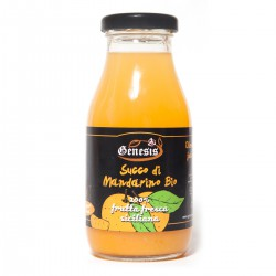 Organic sicilian Tangerine Juice 100 % FRUIT