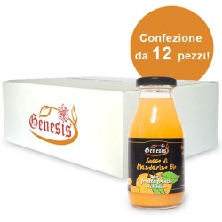 Succo di Mandarino BIO 100% FRUTTA - 12 pezzi
